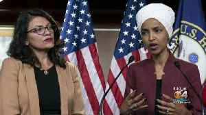 News video: Israel Bans Two Muslim Congresswomen From Entering Country