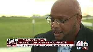 Wrongfully convicted of KC murders, Ricky Kidd walks free [Video]