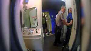 'Hey Kids, We're All Gonna Die': Body Cam Video Shows Arrest of Passenger at Airport [Video]