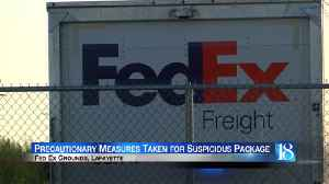 suspicious pkg deemed mail [Video]