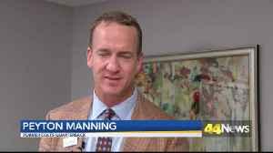 Peyton Manning Cuts Ribbon on New Children's Emergency Room [Video]