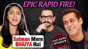 Mrunal Thakur Wants Salman As Her Brother, Kills Aamir Khan | Rapid Fire | Batla House | EXCLUSIVE [Video]