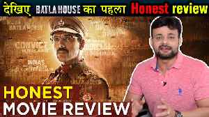 News video: Batla House FIRST HONEST Review | John Abraham | Mrunal Thakur | Batla House REVIEW