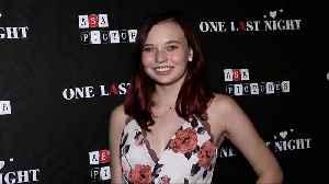 Tessa Freberg 'One Last Night' Premiere Red Carpet [Video]
