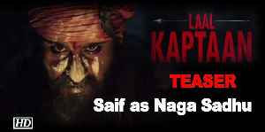 News video: 'Laal Kaptaan' TEASER: Saif's Fiery Look as Naga Sadhu on his birthday