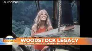 Woodstock fifty years on: legacy celebrated despite lack of official anniversary event [Video]