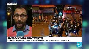 Hong Kong: Protesters 'don't feel like there's been enough international support' [Video]