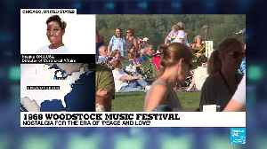 1969 Woodstock Music Festival : Nostalgia for the era of 'peace and love' [Video]