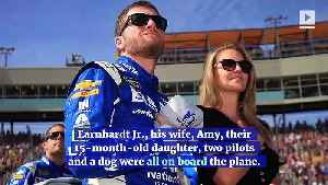 News video: Dale Earnhardt Jr. Hospitalized After Plane Crash