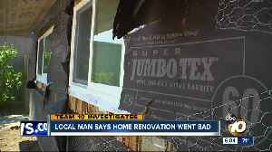 San Diego man says home renovation went bad [Video]