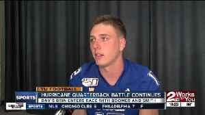 TU Media Day: Quarterback Battle Continues [Video]