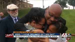 Wrongfully convicted of KC double murder, Ricky Kidd walks free [Video]