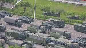 Chinese paramilitary forces exercise near Hong Kong border [Video]