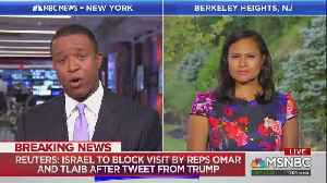 MSNBC Defends Omar and Tliab — They Never Said They Hated Israel [Video]