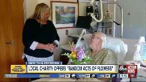 Nonprofit repurposes day-old bouquets and gives them to vets [Video]