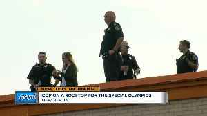 'Cop on a Rooftop' raises awareness for Special Olympics [Video]