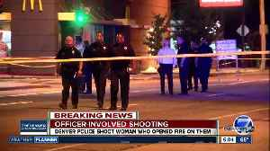 Woman wounded in shootout with Denver police officers at Colfax and Perry [Video]
