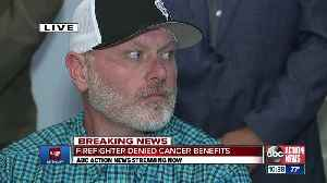 Firefighter sues St. Pete after being denied cancer benefits [Video]