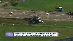 Dale Earnhardt Jr., wife and 1-year-old daughter involved in Tennessee plane crash [Video]