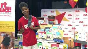 'Lion King' star JD McCrary gives out backpacks to Belle Glade students [Video]
