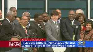Trump Says He Was Just Floating Clemency For Blagojevich [Video]