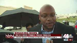 Justice delayed: Ricky Kidd reacts to newfound freedom [Video]