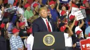 News video: Trump Mocks Protester At His Rally: 'That Guy's Got A Serious Weight Problem'