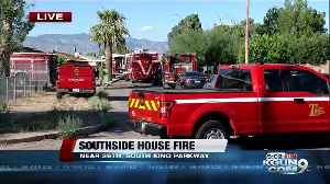 LIVE: Crews battling house fire on Tucson's south side [Video]