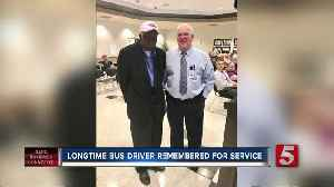 Longtime Wilson County school bus driver, David Wright, passed away at 76 [Video]