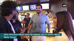 News video: Depicting baggage of character is important John Abraham on playing cop in Batla House