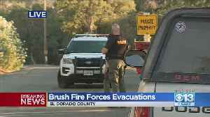 Brush Fire Forces Evacuations [Video]