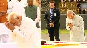 Atal Bihari Vajpayee on his death anniversary: President, PM pay tribute [Video]