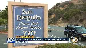 Malware attack targets server at North County school district [Video]