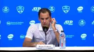 News video: Federer impressed with Rublev