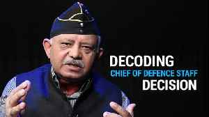 Decoding PM Modi's decision to appoint Chief of Defence Staff [Video]