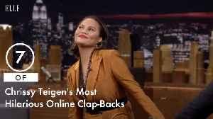 7 of Chrissy Teigen's Most Hilarious Online Clap-Backs [Video]
