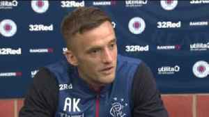 'I came to Rangers to win the league' [Video]