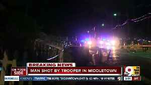 OSHP: Trooper, suspect hurt in trooper-involved shooting in Middletown [Video]