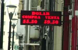 Argentine peso jumps after heavy losses [Video]