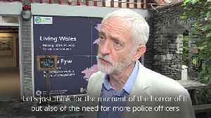 Jeremy Corbyn 'totally shocked' by death of police officer in Berkshire [Video]