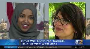 News video: Israel Reverses Ban On One U.S. Rep Tlaib, Continues To Block Omar