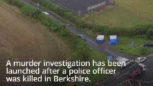 Ten held in murder probe after police officer killed in Berkshire [Video]