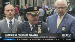 MTA And NYPD Update On Suspicious Packages [Video]