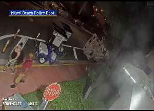 WEB EXTRA: Miami Beach Police Release Surveillance Video Of Strong-Armed Robbery Suspects [Video]