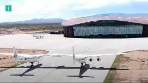 Virgin Galactic Unveils World's First Commercial Spaceport [Video]