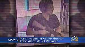 Man Arrested In Active Shooter False Alarm At NJ Walmart [Video]
