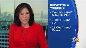 NJ DOH Warns About Hepatitis A At Golf And Tennis Club [Video]