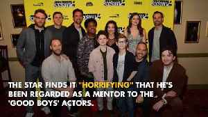 Seth Rogen 'horrified' to be a mentor [Video]