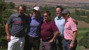 Joe Sakic Holds Annual Charity Golf Tournament [Video]