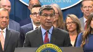 RAW: California Attorney General Xavier Becerra Talks About New Suit Filed Against Trump Administration [Video]